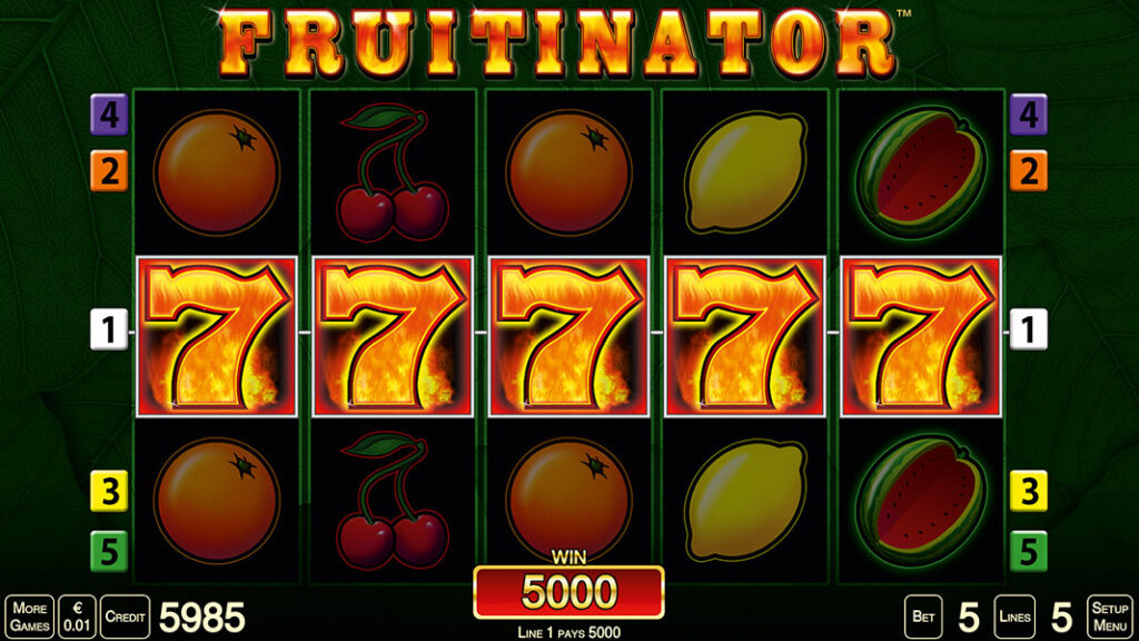 Fruitinator spiele